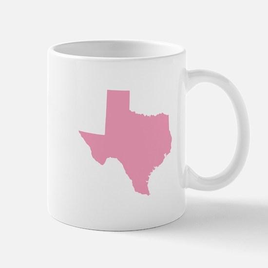 Texas - Pink Mug