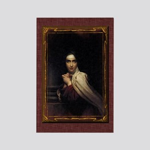 St Teresa of Avila Gothic Rectangle Magnet
