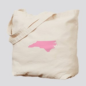 North Carolina - Pink Tote Bag