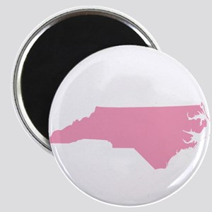 North Carolina - Pink Magnet