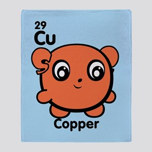 Cute Element Cadmium Throw Blanket