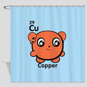 Cute Element Cadmium Cd Shower Curtain