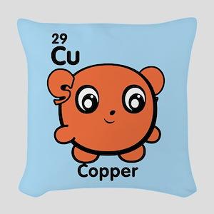 Cute Element Cadmium Cd Woven Throw Pillow