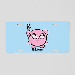Cute Element Erbium Er Aluminum License Plate
