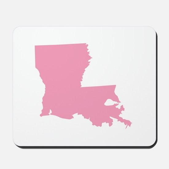 Louisiana - Pink Mousepad