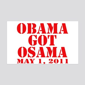 Obama got Osama May 1 2011 38.5 x 24.5 Wall Peel