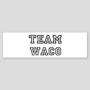 Team Waco Bumper Sticker