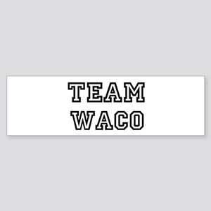 Team Waco Bumper Sticker