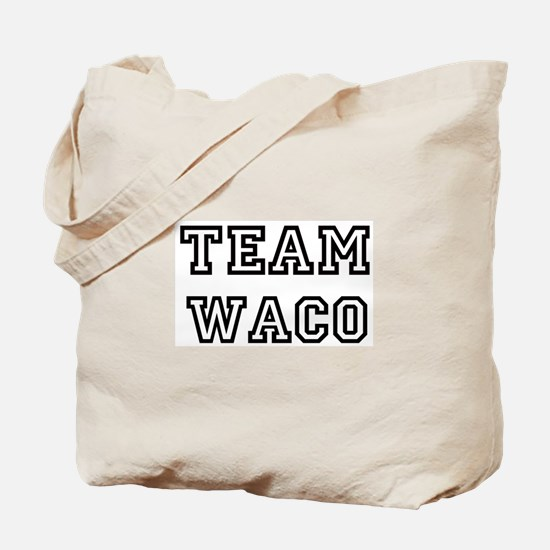 Team Waco Tote Bag