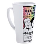 Lgbt Hotline 17 Oz Latte Mug
