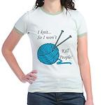I knit Jr. Ringer T-Shirt