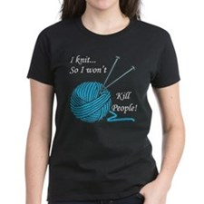 I knit Women's Dark T-Shirt