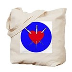 Pierced Heart Tote Bag