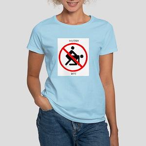 Military Wife Women's Pink T-Shirt
