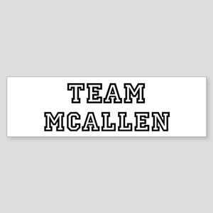Team McAllen Bumper Sticker