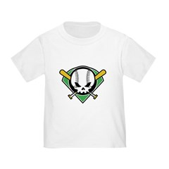 Skull Baseball T
