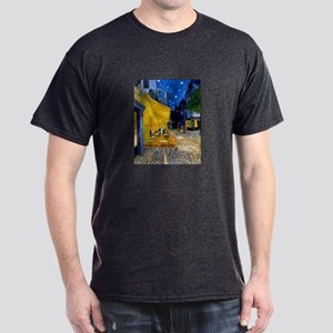 Cafe Terrace at Night Dark T-Shirt