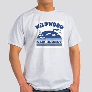 Wildwood New Jersey Ash Grey T-Shirt