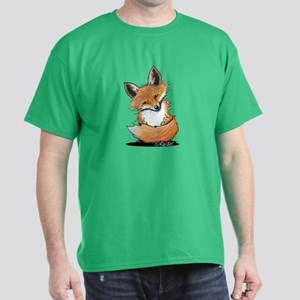 KiniArt Fox Dark T-Shirt
