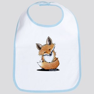 KiniArt Fox Bib