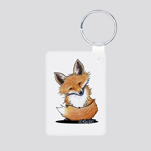 KiniArt Fox Aluminum Photo Keychain