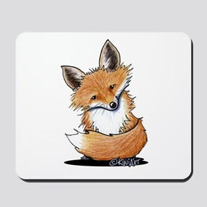 KiniArt Fox Mousepad