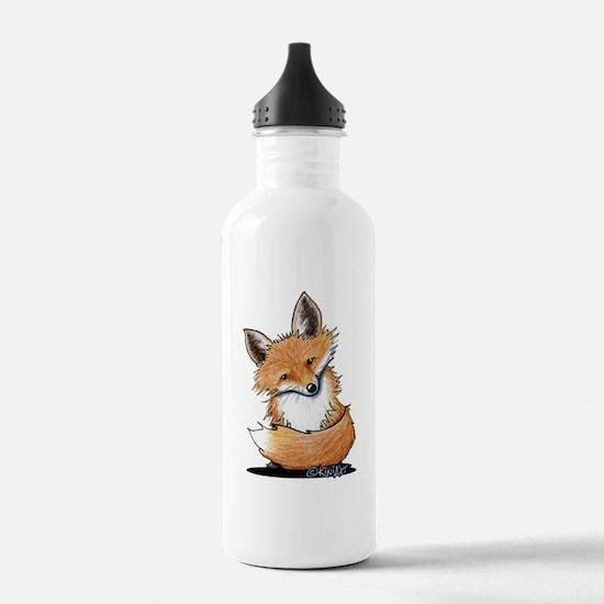 KiniArt Fox Water Bottle