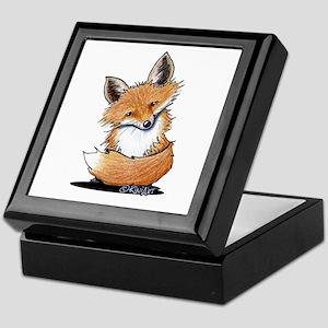 KiniArt Fox Keepsake Box