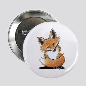 """KiniArt Fox 2.25"""" Button"""