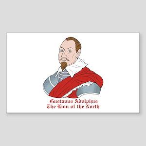 Gustavus Adolphus Rectangle Sticker