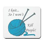 I knit Mousepad