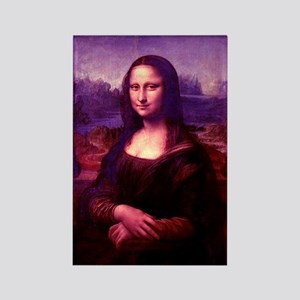 Mona Lisa Rectangle Magnet (10 pack)