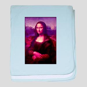 Mona Lisa baby blanket
