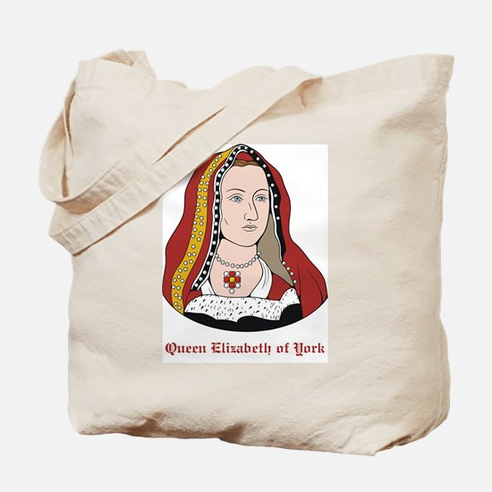 Elizabeth of York Tote Bag