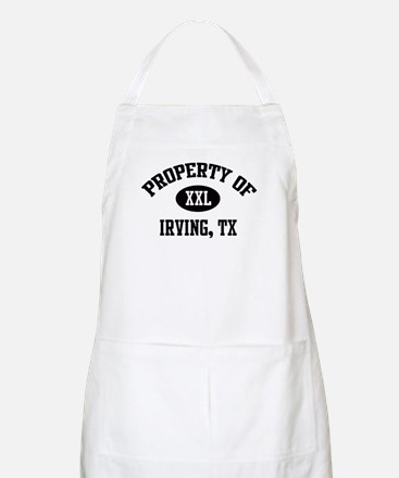 Property of Irving BBQ Apron