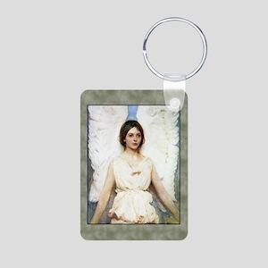 Abbott Thayer Angel Aluminum Photo Keychain