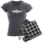 Skipjack Shad Herring Women's Charcoal Pajamas