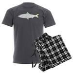 Skipjack Shad Herring Men's Charcoal Pajamas