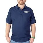 Skipjack Shad Herring Dark Polo Shirt