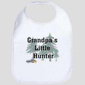 Grandpa's Little Hunter Bib