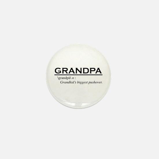 Grandpa Mini Button