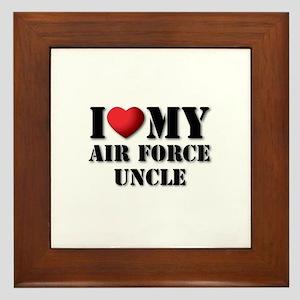 Air Force Uncle Framed Tile