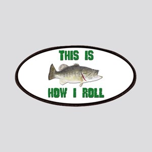 How I Roll Bass Fishing Patches