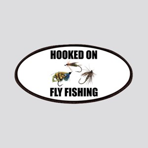 Hooked on Fly Fishing Patches