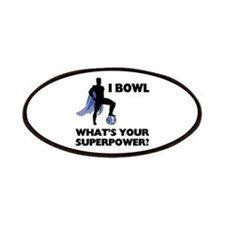 Bowling Superhero Patches