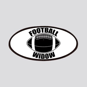 Football Widow Patches