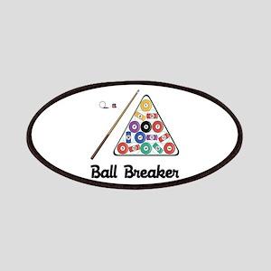 Billiards Ball Breaker Patch