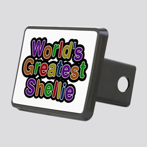 World's Greatest Shellie Rectangular Hitch Cover