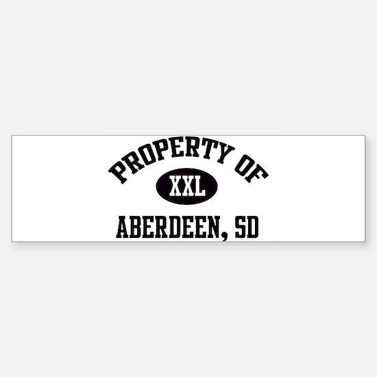 Property of Aberdeen Bumper Bumper Bumper Sticker
