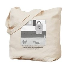 Underpants for Squirrels Tote Bag